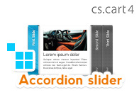 CS-Cart Accordion Slider